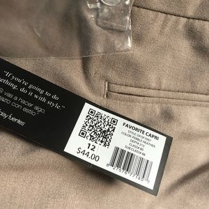 Daisy Fuentes Pants - 🤩Daisy Fuentes cropped pants